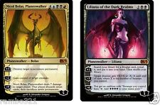 Nicol Bolas + Liliana of the Dark Realms 20 Random Rares MTG Magic BDAY XMAS