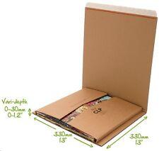 "Lil BUKWRAP CLP 12"" / LP / 33 vinyl record book mailer envelope multi capacity"