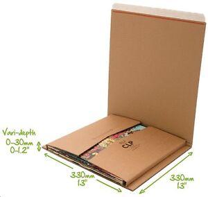 "Lil Bukwrap CLP variable capacity 12""/LP vinyl record laserdisc mailer envelope"