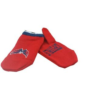 Washington Capitals NHL Youth Boys (8-20) One Size Fits Most Gloves Mitts New