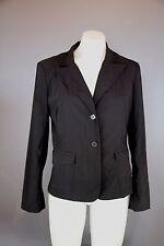 Ladies CUE black Suit Blazer Jacket Coat Size 10 in Excellent Cond Corporate