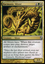 MTG magic cards 1x x1 Light Play, English Harmonic Sliver Time Spiral