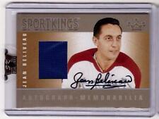 JEAN BELIVEAU 06/07 Sport Kings Auto Autograph Jersey SP Rare Hard-Signed