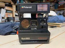 POLAROID SUN660 Autofocus Camera Good Condition PreOwned