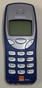Classic Nokia 3210e Blue Mobile Phone