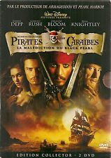 "DVD ""PIRATES DES CARAIBES""  edition collector 2 DVD"