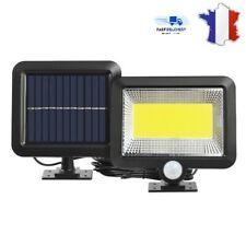 Lampe Solaire Extérieur 100 LED capteur de mouvement éclairage Sécurité Jardin