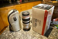 Canon EF 100 mm - 400 mm F/4.5-5.6 EF USM IS For Canon - White