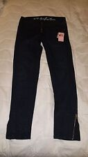 NWT JUICY COUTURE Penelope Ryder Moto Crop Jeans - Size 27 - Retails $198