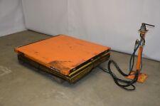 "Knight Industries 1-Ton Pneumatic Lift, 50"" x 55"" (B) Free Freight"