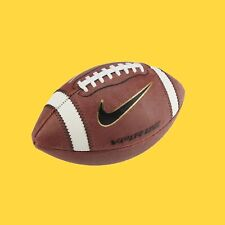 New listing Football Nike Vapor One Official Leather Game Football Brown/Black/Gold/White