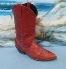 Vintage Style WOMENS  Western RED Boots  SIZE 6.5 M  0669