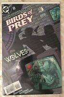 Birds of Prey (1999 series) Wolves #1 in Near Mint condition. DC comics