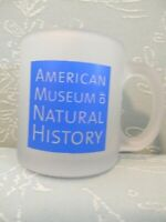 American Museum of Natural History Coffee Mug Cup, Frosted