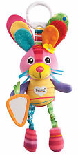 Lamaze PLAY & GROW BELLA THE BUNNY Soft Pram Toy Rattle Baby/Toddler/Child - BN