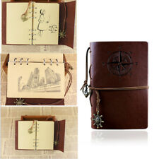 Classic Leather Journal Diary Travel Notebook Sketchbook Writing Blank Art Gift
