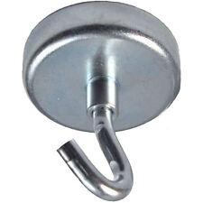 1 Neodymium Hook Magnet - Holds 165 lbs