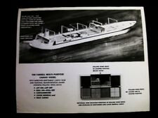 ARTIST CONCEPTION MILITARY UNSINK SHIP PHOTO 1958 #7124