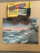 Vintage Epics Of The War Jigsaw Puzzle No8 British Warships Trap The Graf Spee
