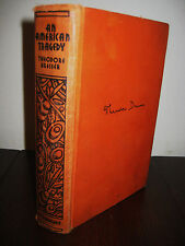 SIGNED Saul Bellow AN AMERICAN TRAGEDY Theodore Dreiser RARE New Edition CLASSIC