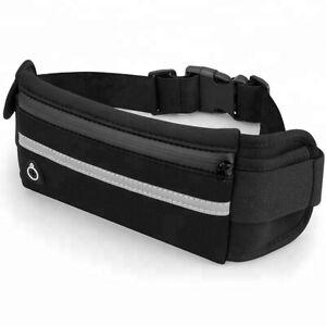 Running Belt fitness fanny pack Waterproof Sport Runner Waist Bum Bag
