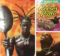 Travis Scott x Reeses Puffs Cereal Cactus Jack Limited Edition Family Size Lot 4