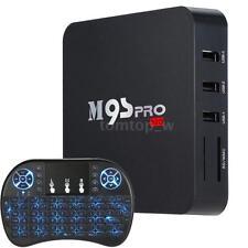 M9S PRO 3G+32GB 4K S905 Smart Media TV Box Android 6.0 Quad Core & Keyboard X3R2