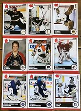 2010-11 SCORE GLOSSY PARALLELS 9 CARD LOT—49,50,140,230,364,380,434,454,455,