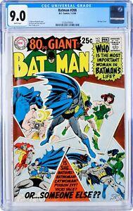 Batman No. 208. CGC 9.0 WHITE
