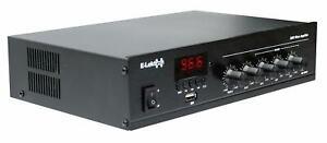E-Lektron PA-TRON45 ELA Mono Mischverstärker 45W für Beschallung-Anlage 3-Kanal