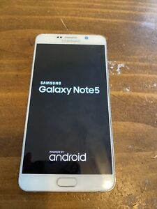 Samsung Galaxy Note5 SM-N920 - 32 GB - White  (AT&T ) Smartphone