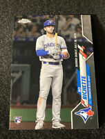 2020 Topps Chrome Update BO BICHETTE Rookie Debut | BLUE JAYS RC #U-51
