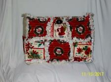 Norman Rockwell Christmas Red Rag Quilt DiaperBag Bag Tote Purse Holidays