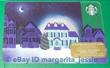 """STARBUCKS CANADA SERIES GIFT CARD """"UP ON THE ROOFTOP"""" 2017 NEW NO VALUE HOLIDAY"""