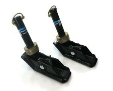 (2) New SQUARE FOOT SNOW PLOW SHOES for Buyers SAM 1303005 Snowplow Skid Blade