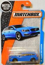 MATCHBOX 2016 METAL PARTS PIEZAS VOLVO V60 WAGON BLUE