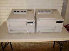 2ea- Canon Fileprint 300 Microfilm/Microfiche Laser Printers