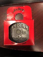 Belt Buckle Jim Beam Kentucky Bourbon Whiskey 2008 in it's box