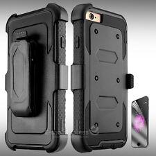 Belt Clip Holster Shockproof Rugged Case Cover for Apple iPhone 5s SE 6s 7 Plus