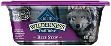 Blue Buffalo Wilderness Trail Tubs Grain Free Beef Stew Dog Food Tray