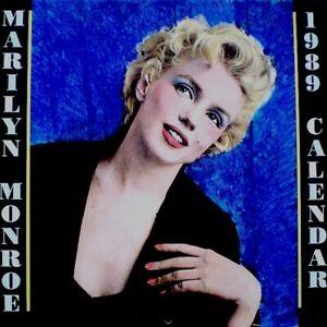 Marilyn Monroe 1989 Pinup Calendar Bruno Bernard of Hollywood Promo Photo EX