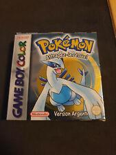 Pokémon Version Argent (Nintendo Game Boy Color, 2001) Complet pal FR