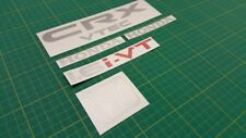 CRX 1.6 VTEC 1.6i-VT 1.6i VT JDM CR-X REMPLACEMENT Hatch decals stickers