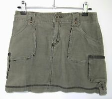 """LIMITED TOO Girl's Size 12 Olive Green Corduroy Skirt 100% Cotton Waist 27"""" NWOT"""
