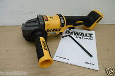 "DEWALT 54V FLEXVOLT DCG414 5"" 125MM ANGLE GRINDER BARE UNIT + DIAMOND DISC"