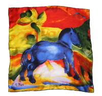 Marc Blaues Pferdchen Pferd Nicki Seide Expressionismus Nickituch blaue Reiter