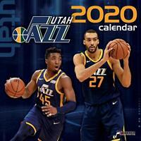 2020 Utah Jazz NBA - Wall Calendar, 12x12 by Turner (UT Basketball Don Mitchell)
