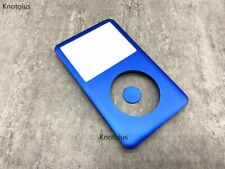 blue front housing case cover central button key for ipod 6th gen classic 80gb