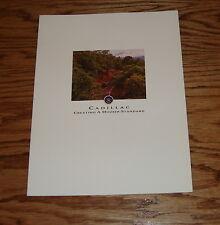Original 1994 Cadillac Full Line Sales Brochure 94 Fleetwood DeVille Eldorado