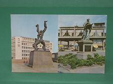 AK Rotterdam Monument Zadkine Standbild Erasmus ältere Ansichtskarte ungelaufen